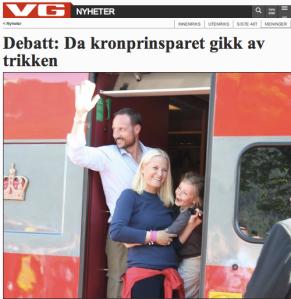 SU-leder Andreas C. Halse mener kronprinsparet bør bry seg mer om sitt folkelige image. Jeg synes de kan få bry seg om barna sine.